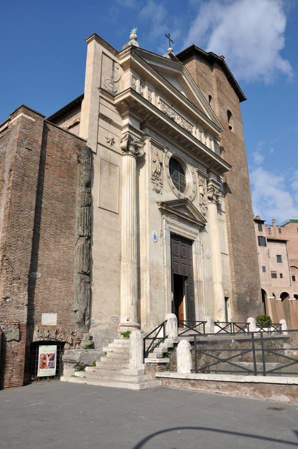 Theatre of Marcellus Teatro di Marcello. Rome, Italy stock images