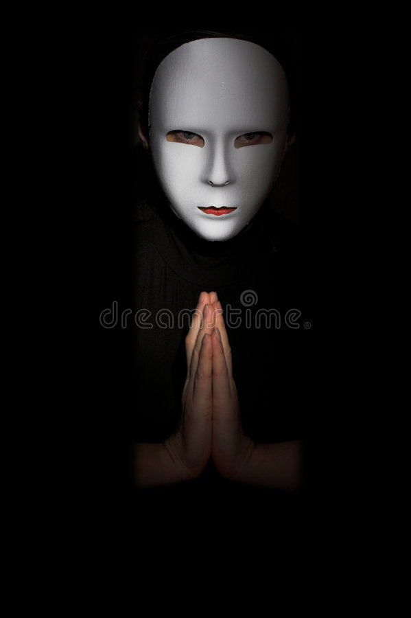 Download Theatre Mask stock image. Image of hands, beautiful, cool - 3253777