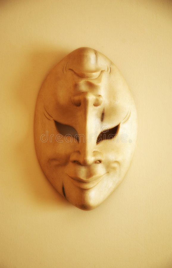 Theatre Mask. Happy and Sad Theater Mask
