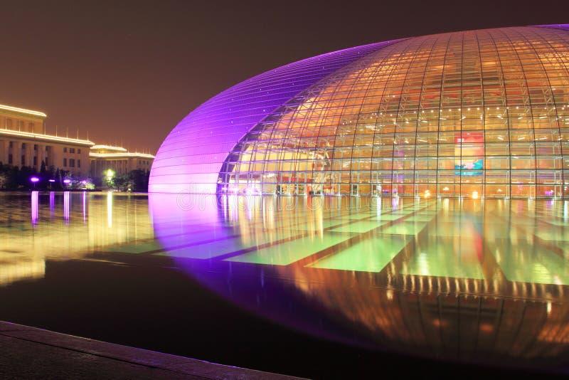 China national grand theatre stock image
