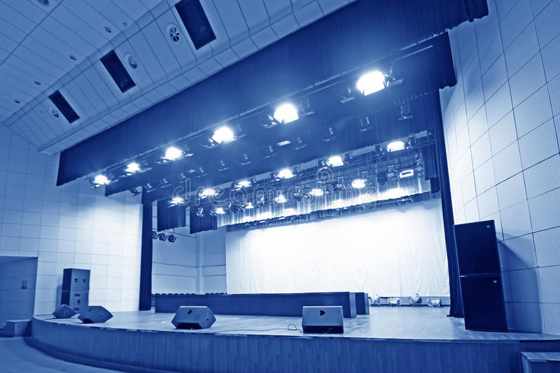 Theatre stage. Stage in a theatre north china stock photos