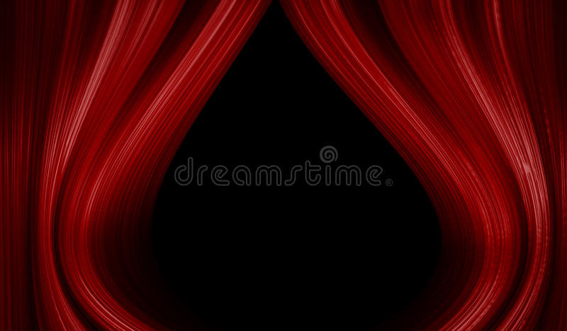 Download Theatre stage curtain stock illustration. Illustration of opera - 23607081