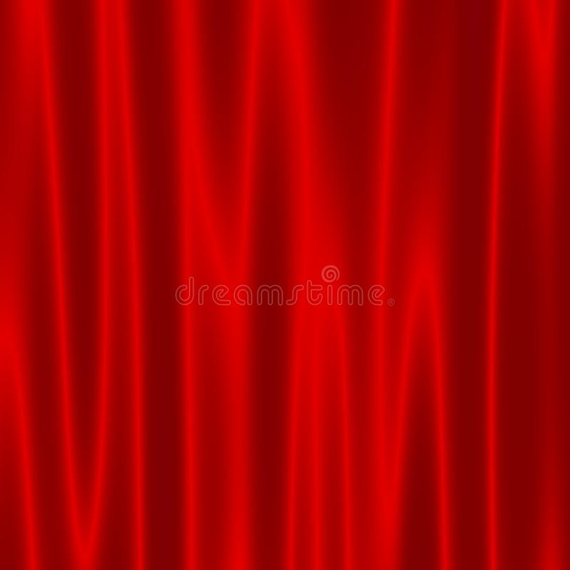 Download Theatre Stage With Red Velvet Curtains