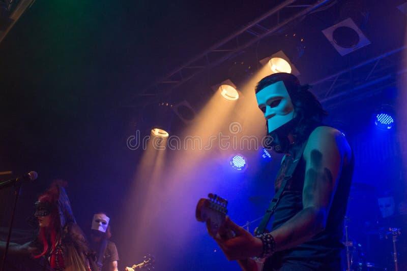 Theatres des Vampires at Midian Live Cremona 06-05-2017 stock photos
