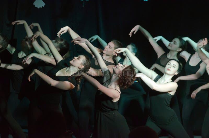 Theatrical show Isadora stock photos