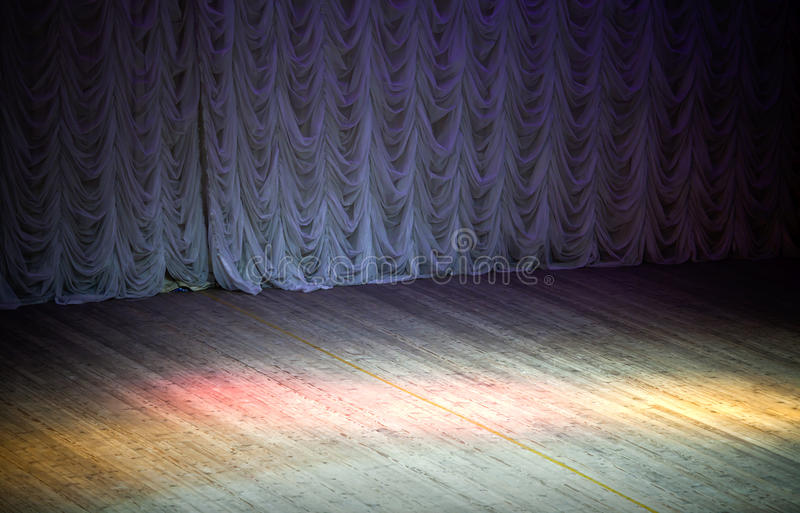 Theatrical stage background stock photography
