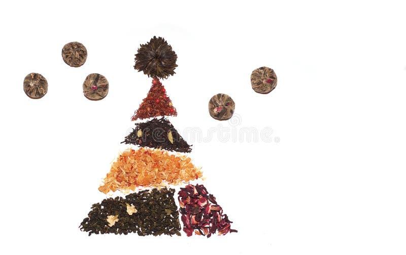 Thee, het trekken van thee stock afbeelding