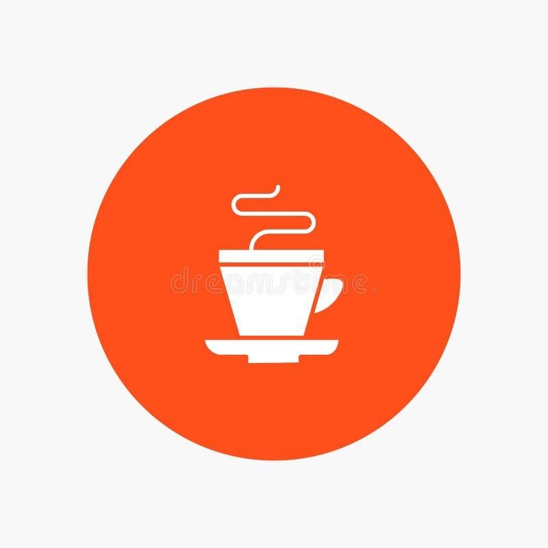 Thee, Kop, Indische Koffie, vector illustratie