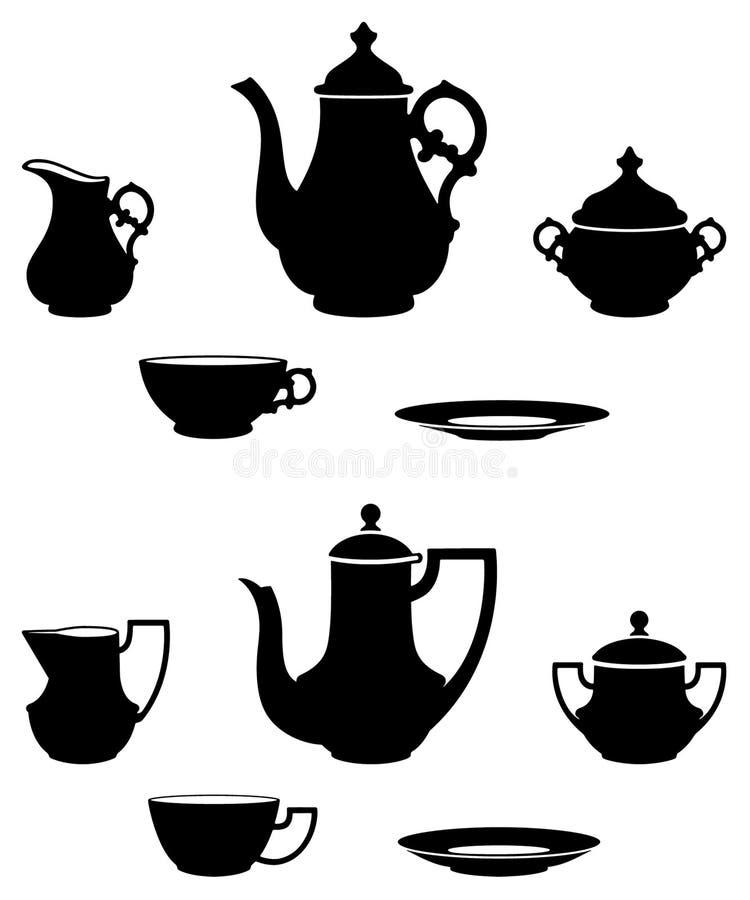 Theestellen royalty-vrije illustratie