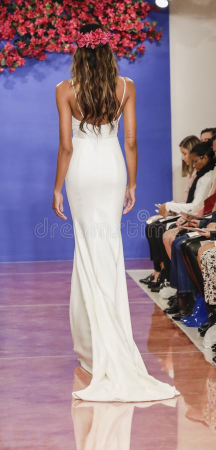 Theia Bridal Fall 2020 stock images
