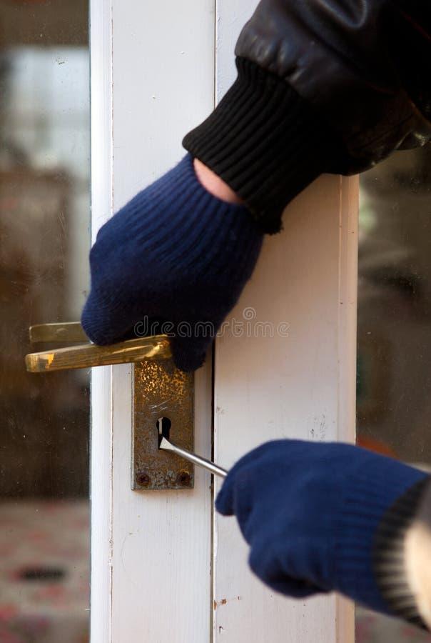 Free Theif Breaking-in Burglary Security Stock Image - 23094081