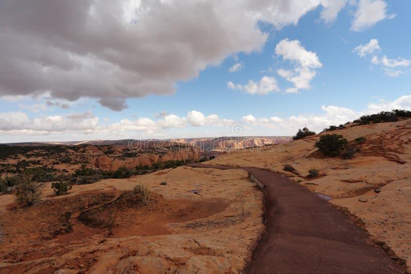 Thelcanion in de Reserve van Navajo royalty-vrije stock fotografie