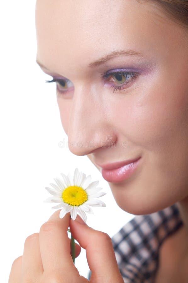 Thema der natürlichen Kosmetik lizenzfreie stockfotografie