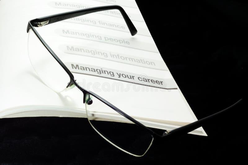 Thema des Karriere-Managements lizenzfreies stockfoto