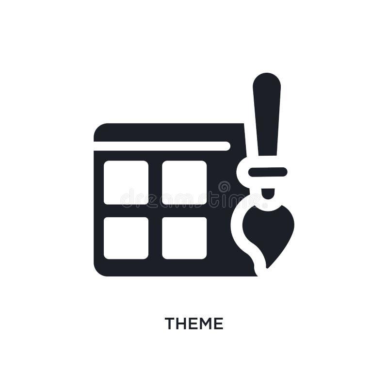 thema geïsoleerd pictogram eenvoudige elementenillustratie van de pictogrammen van het programmeringsconcept ontwerp van het het  stock illustratie