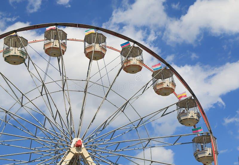 Theme park Melbourne. Ferris Wheel at Theme park Melbourne royalty free stock photos