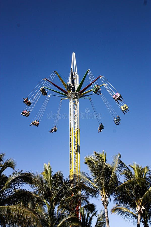 Theme park ride. SeaWorld theme park ride stock image