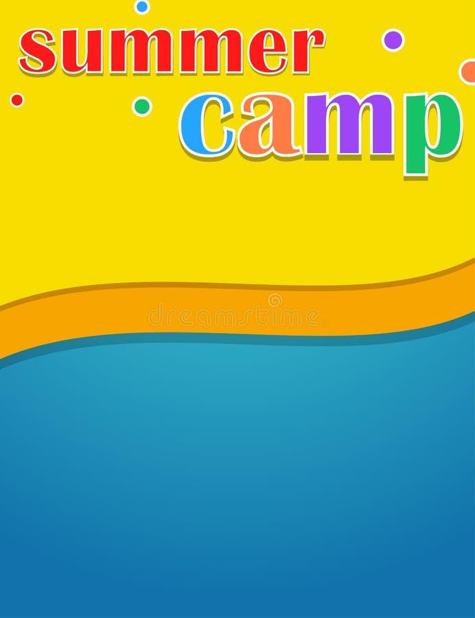 Themed baner för färgrik ungekoloni vektor illustrationer