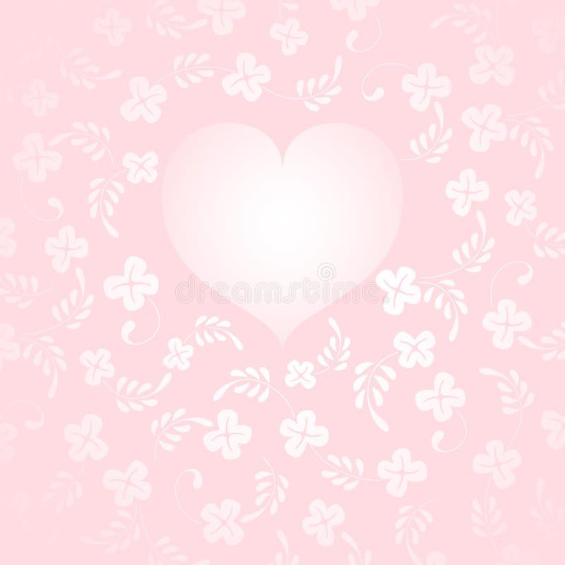 Themenorientierter Hintergrund der Liebe vektor abbildung