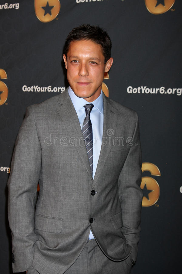 Download Theo Rossi Arrives At The Launch Of Got Your 6 Editorial Stock Photo - Image: 25284068