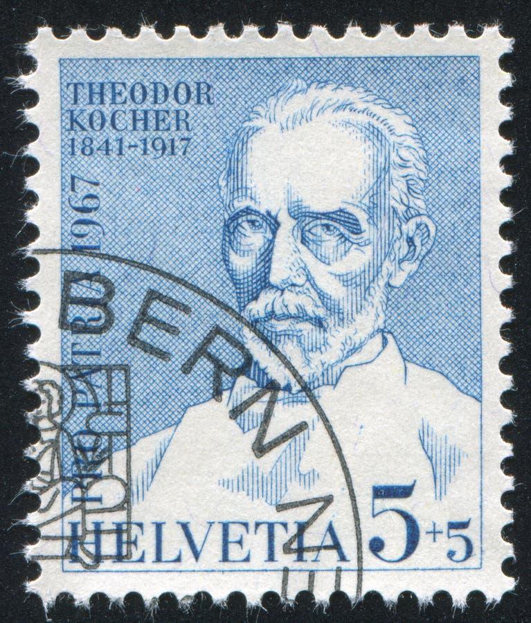 Theodor Kocher fotografía de archivo libre de regalías