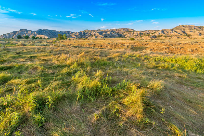 Theodore Roosevelt National Park Landscape images stock