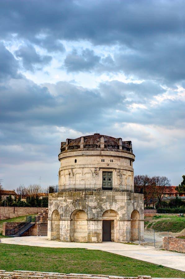 theodoric mausoleum fotografering för bildbyråer