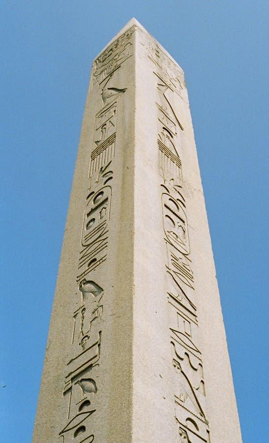 theodosius обелиска стоковые изображения rf