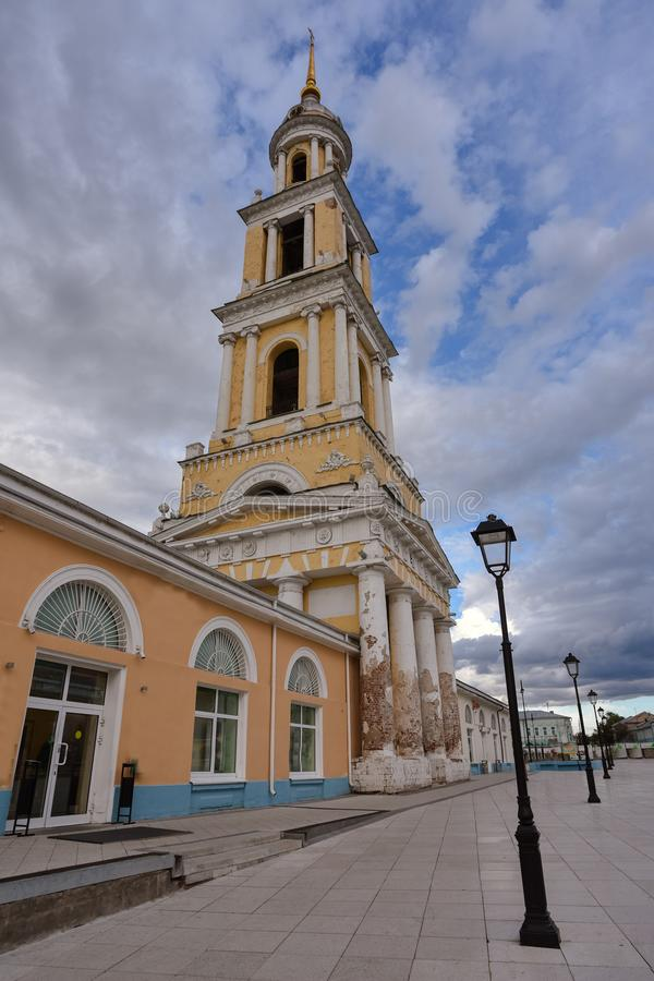 Theological Church in the city of Kolomna stock photography