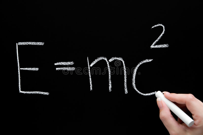 Theory Of Relativity Stock Images