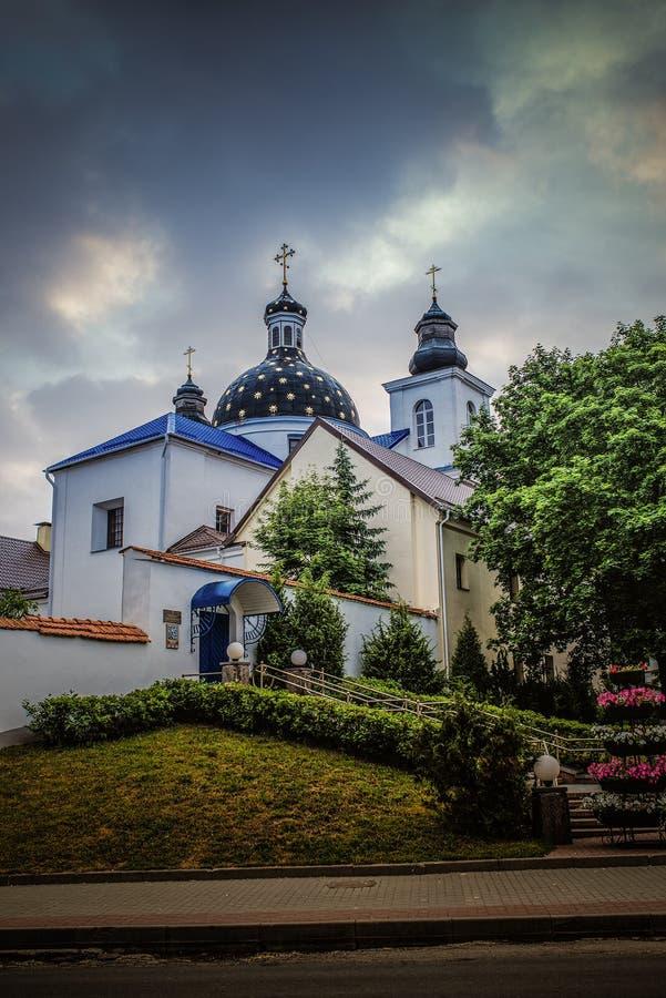 Theotokos-Kloster, Grodno stockfoto