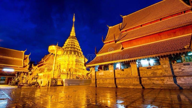 Thep Chiang Mai du su de doi de thad de pha de Wat photos libres de droits