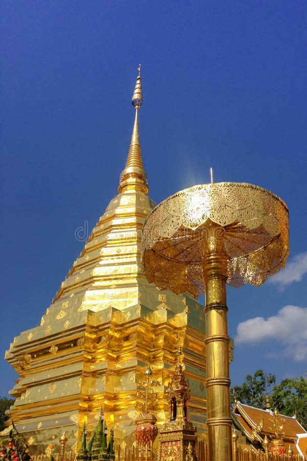 Thep Doi su dhat Wat Phra, Chiangmai стоковое фото rf