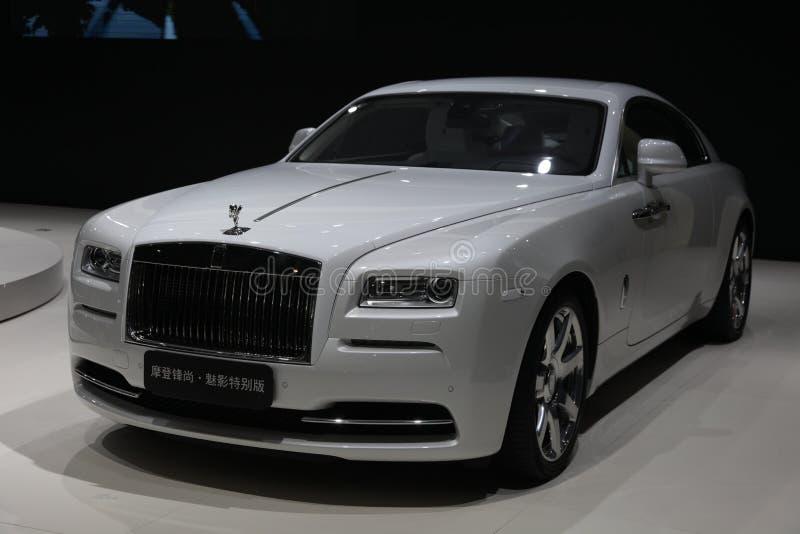 Thephantom da edição especial de Rolls royce foto de stock royalty free