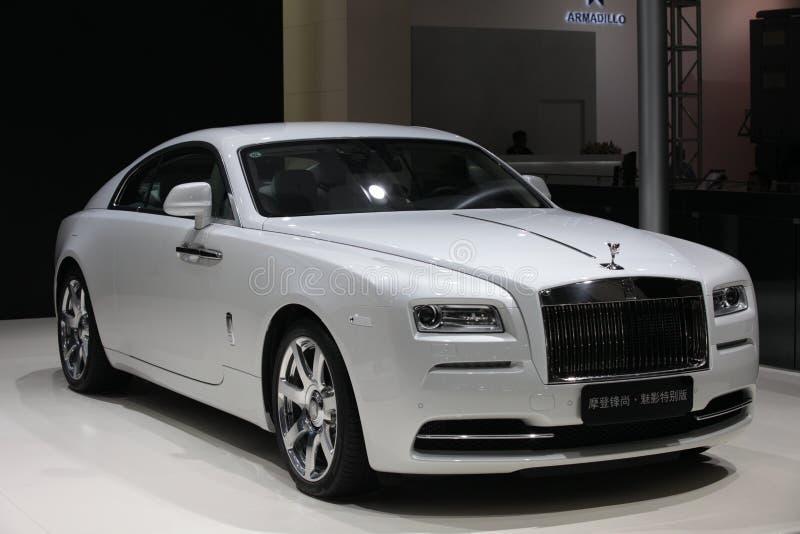 Thephantom Rolls Royce specjalne wydanie fotografia royalty free