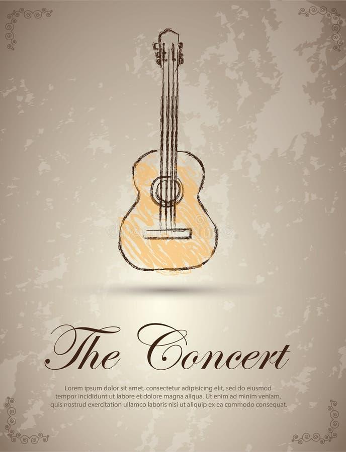 Ther-Konzert stock abbildung