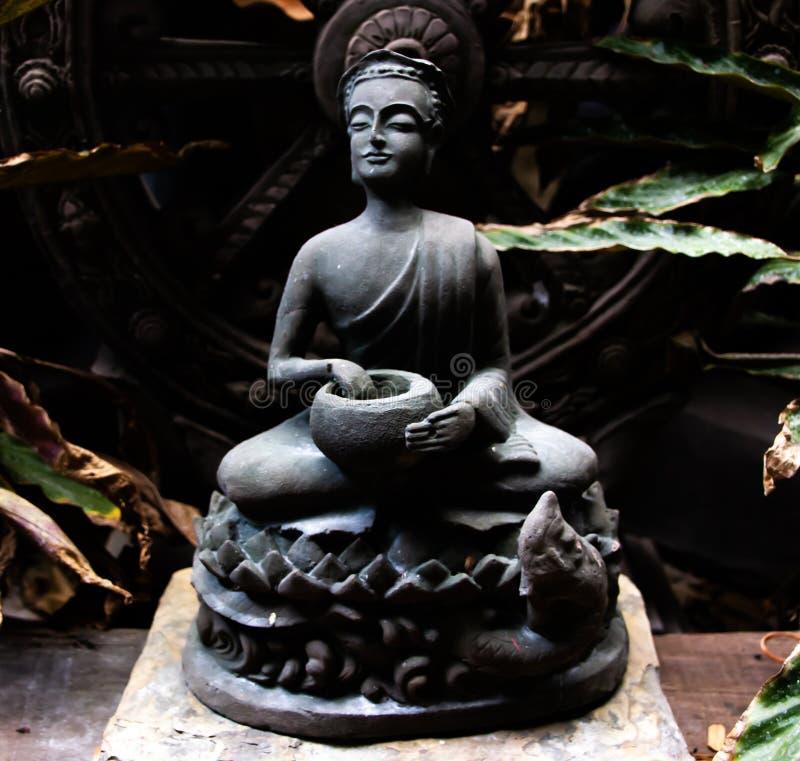 Thera Upagupta war ein Sch?ler von Buddha-` s Begleiter Ananda des eroberten Maras stockbild