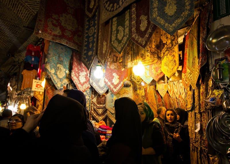 Theran Bazar, Iran arkivbilder