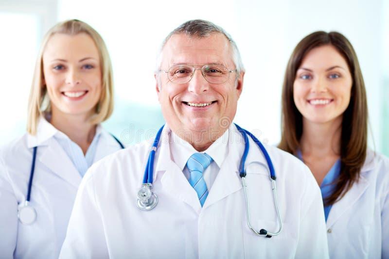 Therapeutists felizes foto de stock royalty free
