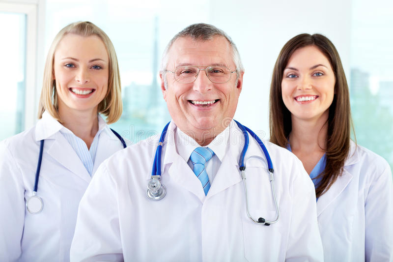 Therapeutists felizes fotos de stock royalty free