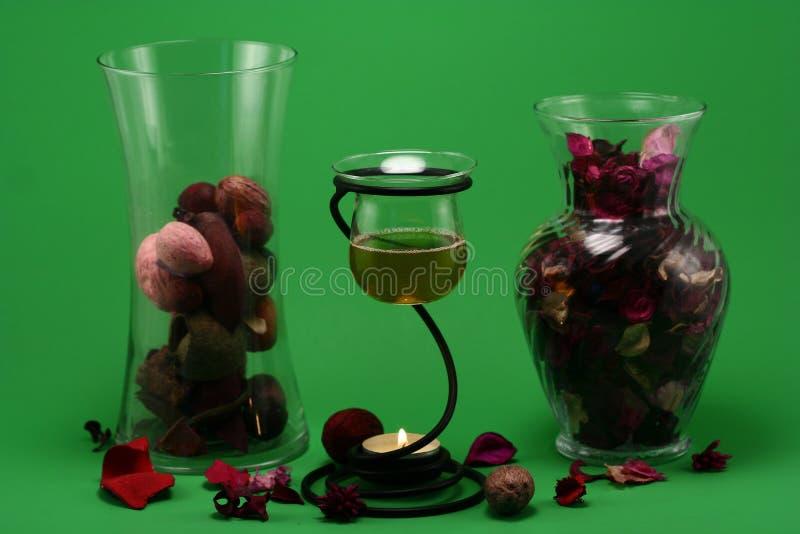 Therapie 4 van het aroma royalty-vrije stock afbeeldingen
