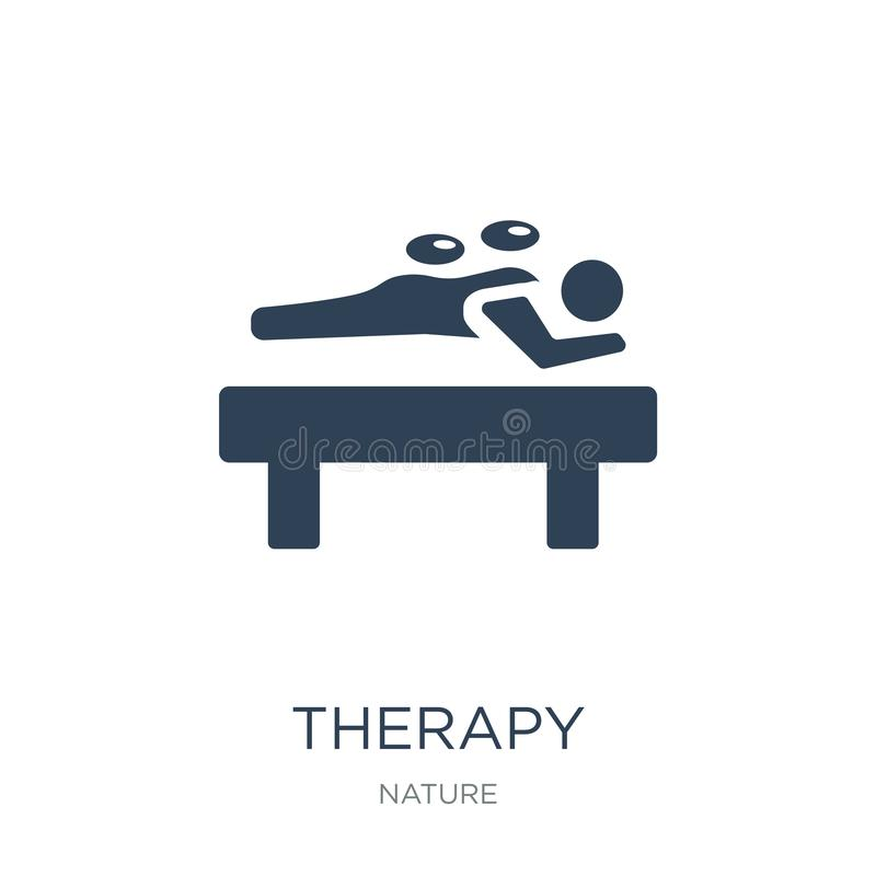 therapy icon in trendy design style. therapy icon isolated on white background. therapy vector icon simple and modern flat symbol vector illustration
