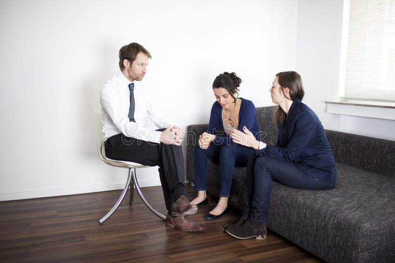 Therapy Psychoanalysis Royalty Free Stock Photo