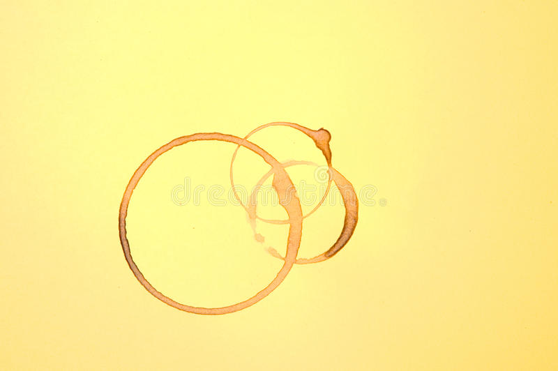 Download There Are Brown Coffee Stains Stock Photo - Image: 25161608