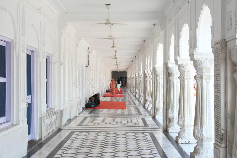 Golden Temple In Side corridor. royalty free stock photo