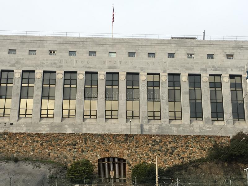 United States Mint, San Francisco, 1. royalty free stock image
