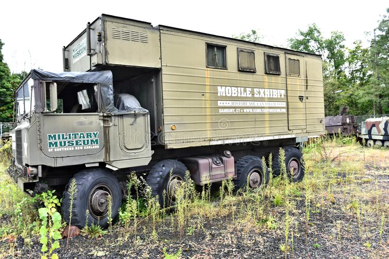 Danbury connecticut us mobile military museum. There is Mobile Military Museum of United states in Connecticut state, Danbury. Its really rare chance to see and stock images