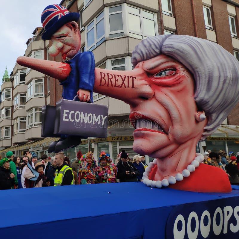 Theresa May está matando a economia fotografia de stock royalty free