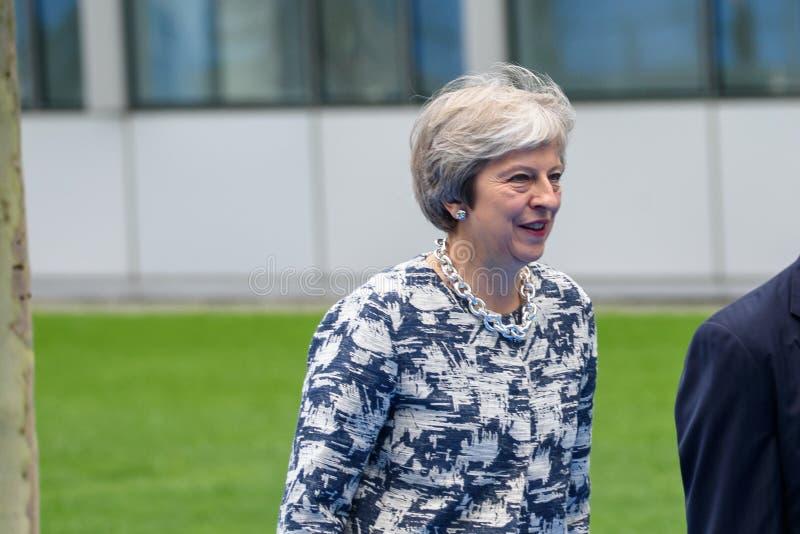 Theresa May, primer ministro de Reino Unido foto de archivo