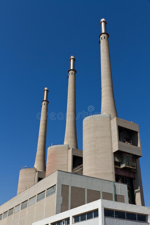 Download Thermal Badalona, The Three Towers Royalty Free Stock Images - Image: 19140059